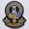 Maclean Virtue Mine Honour Clan Badge